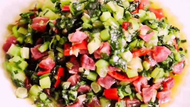 广式菜心的做法,美味健康