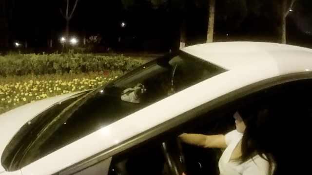 女司机酒驾被查:几小时前喝的不算