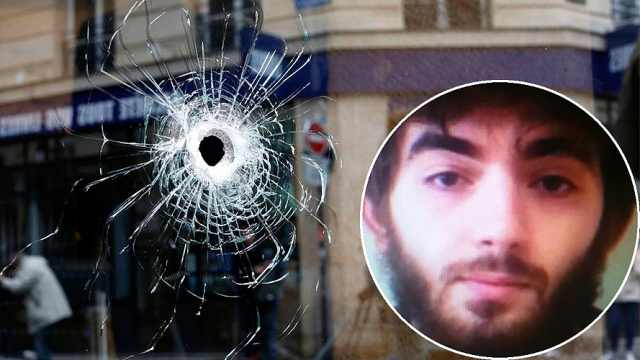 巴黎市中心持刀袭击事件,致1死4伤