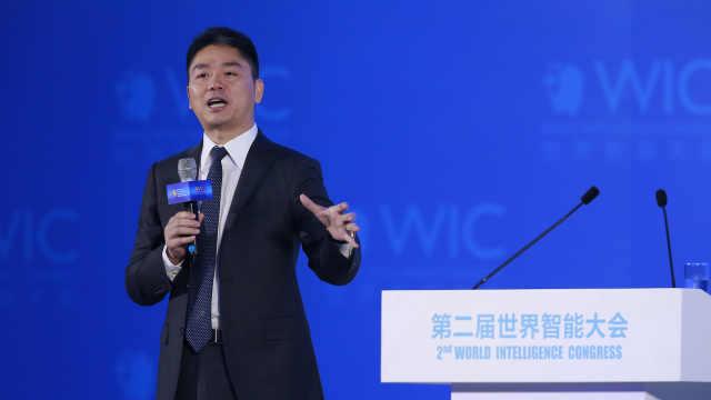 刘强东:京东在线客服90%是人工智能