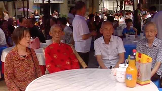 百岁老人爱玩心跳:十块钱麻将常打