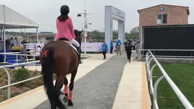 她10岁骑马15岁赛马,坐骑百万不卖