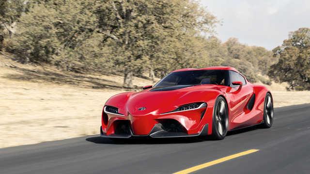被称为丰田新Supra起源的概念车