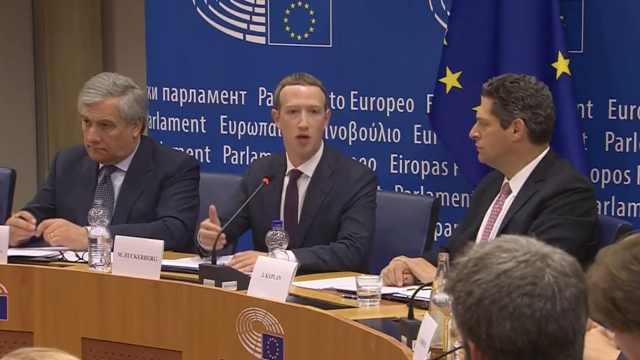 扎克伯格前往欧洲,再次就脸书道歉