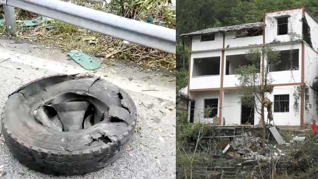 沪蓉高速一危化品车起火,5人受伤
