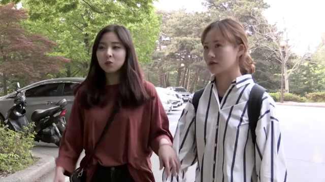 韩国小姐姐超厉害,扔飞盘百发百中