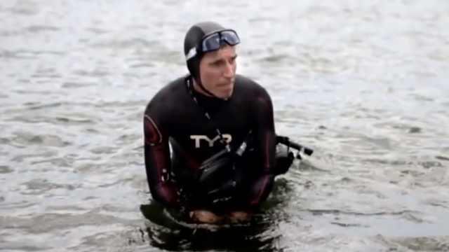 男子想从日本游到美国:要游6个月