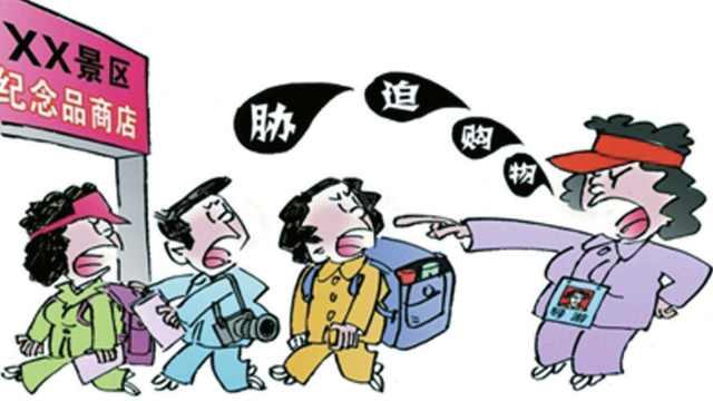 云南导游辱骂游客,强迫交易判半年