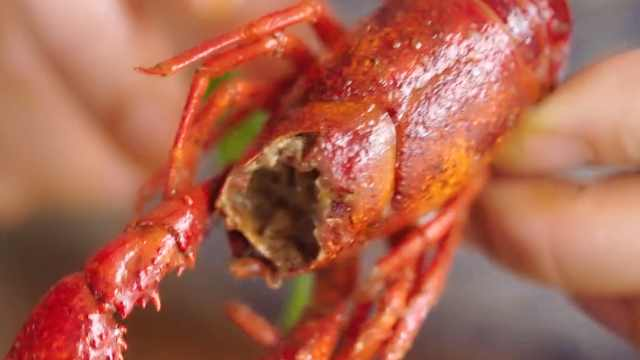 小龙虾的这个部位最好不要吃