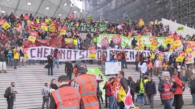 上三天罢两天,法铁路工人如此抗议