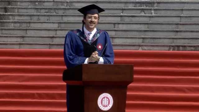 爆笑!留学生毕业致辞竟猛夸白开水