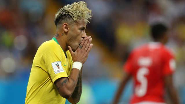 40年首次首战不胜!巴西遭瑞士逼平