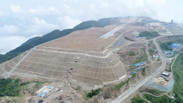 1800米山顶建机场!8D重庆新地标
