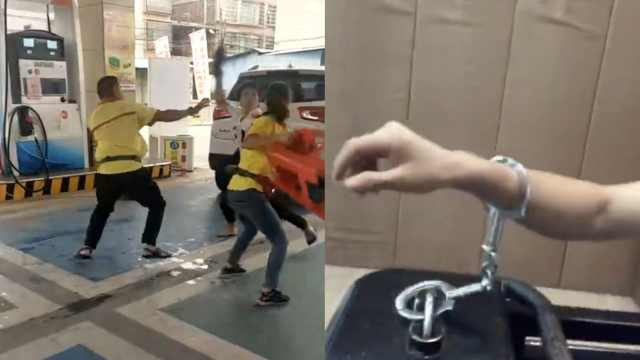 打架被铐不思悔改,他又拍视频造谣