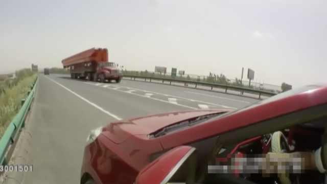 老司机被导航带偏,高速逆行扣30分