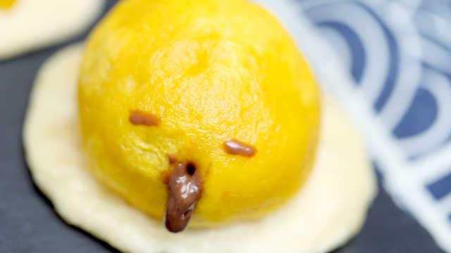懒蛋蛋流沙包,好看又好吃!