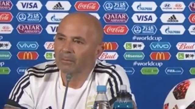 阿根廷主帅:出局很痛苦,但不会辞职