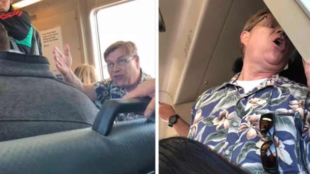 邻座乘客吃卷饼,美国男子报警投诉
