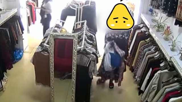 确认过眼神!店主一眼认出偷衣贼