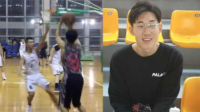 太胖不方便打篮球,他两个月减40斤