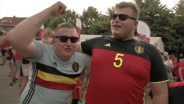 比利时晋级后球迷膨胀:巴西像蛋糕