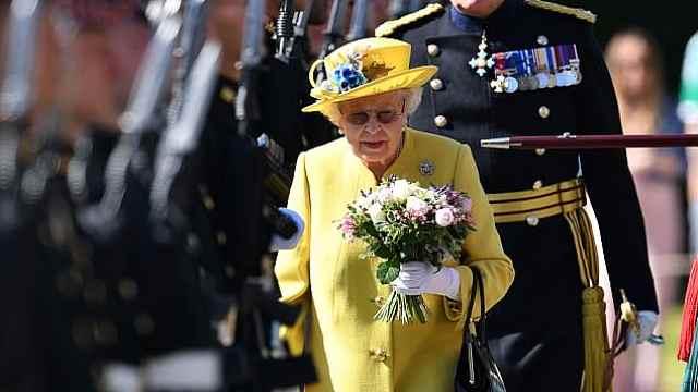 英女王亮相,内阁曾进行驾崩彩排