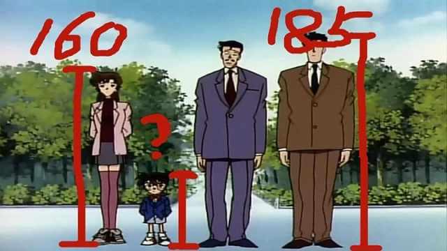 柯南的身高到底是多高呢?