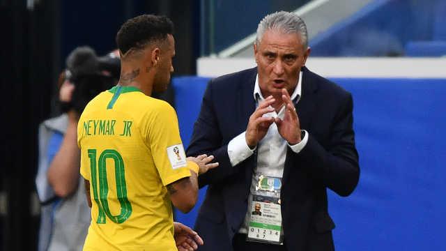 巴西主帅曾批内马尔假摔:不好榜样