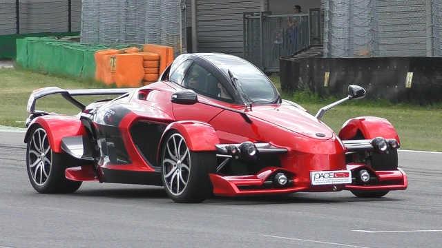 灵感取自F1和战斗机的西班牙跑车