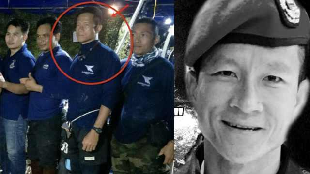 救援少年足球员,泰前海豹队员遇难