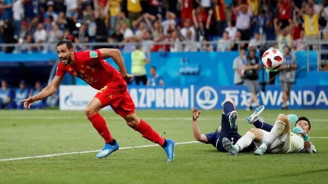 比利时想赢巴西:用逆转日本的精神