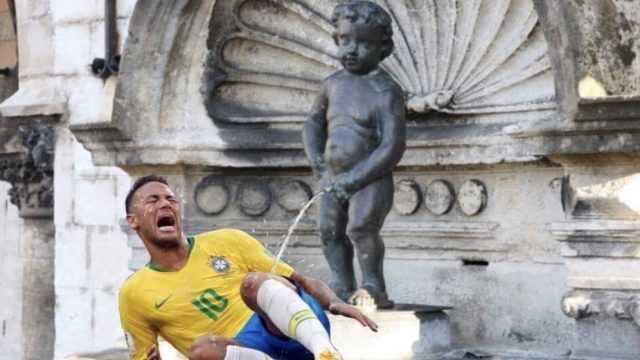 巴西输了,但比利时仍未放过内马尔