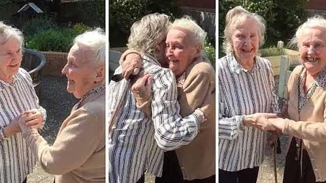 姐妹患阿兹海默,15年后重新团聚