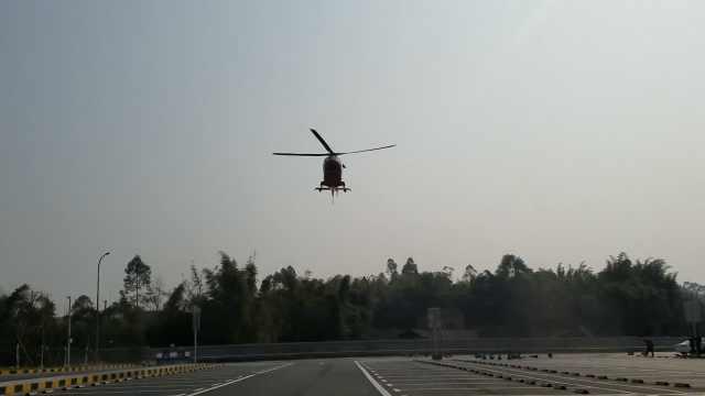 207个直升机救援点,遍布重庆高速