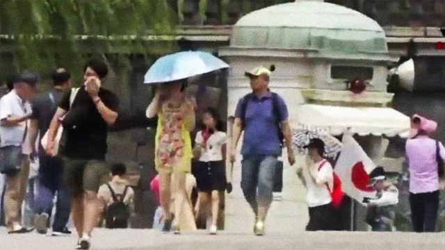 日本天气炎热,东京超百人送往医院