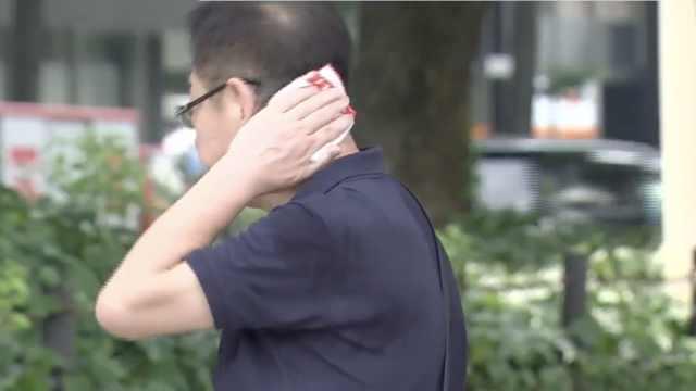 日本水灾后又酷暑,4人中暑死亡