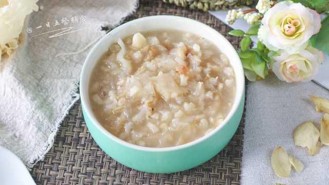 银耳红枣燕麦粥