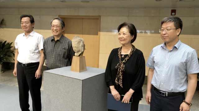 华裔第2次捐国宝,送回云冈石窟头像