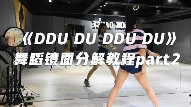 《DDU DU DDU DU》舞蹈分解教程P2