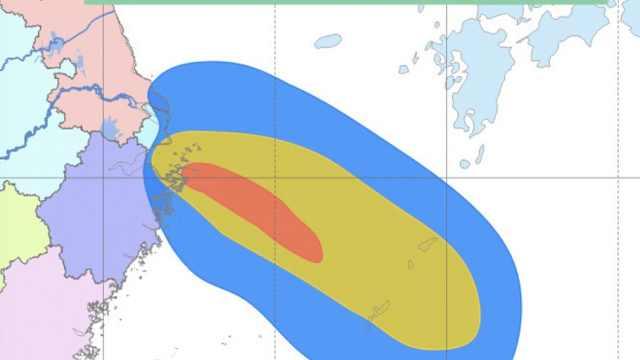 """台风""""安比""""来袭!或直接登陆上海"""
