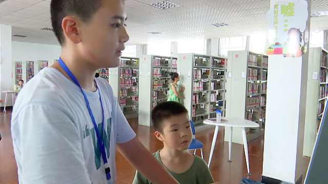 赞!71名学生在图书馆当爱心志愿者