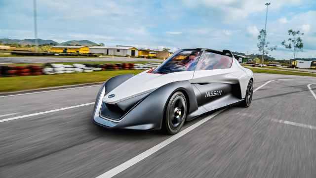 零排放灵动漂移,日产概念小跑车
