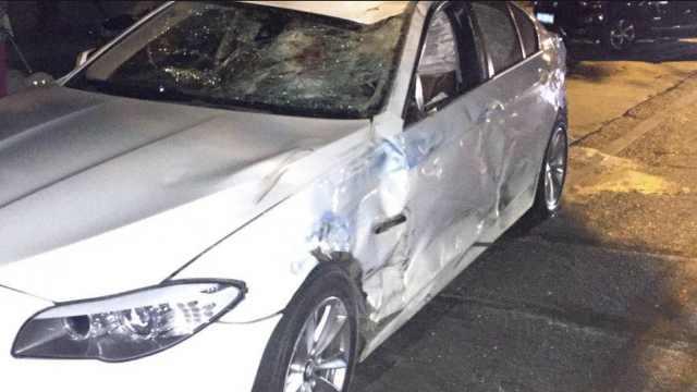 她借朋友宝马开,醉驾撞2车致2人死