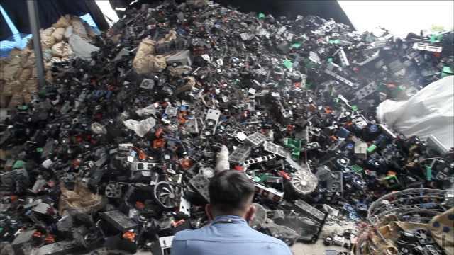 中国禁收洋垃圾,泰国电子垃圾成灾