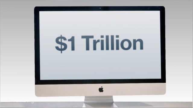 库克回应苹果市值首破万亿:小公司