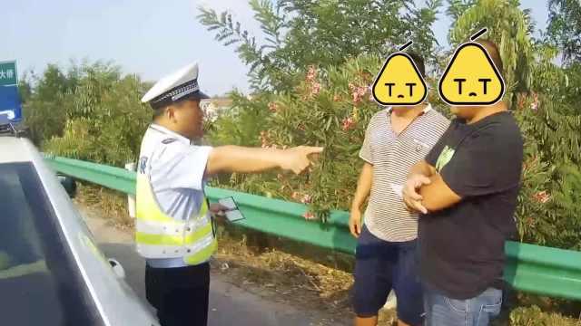 司机高速停车交罚款,又因违停被罚