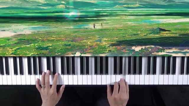 钢琴教学:《白羊》副歌教学