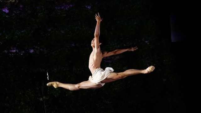 95后芭蕾王子:训练时一顿吃7碗饭