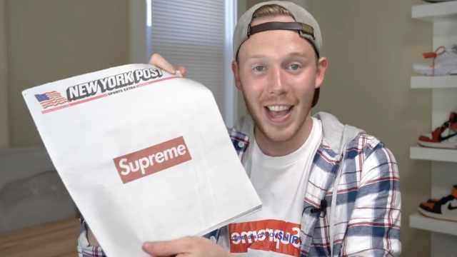 头条!报纸印上Supreme后贵了40倍