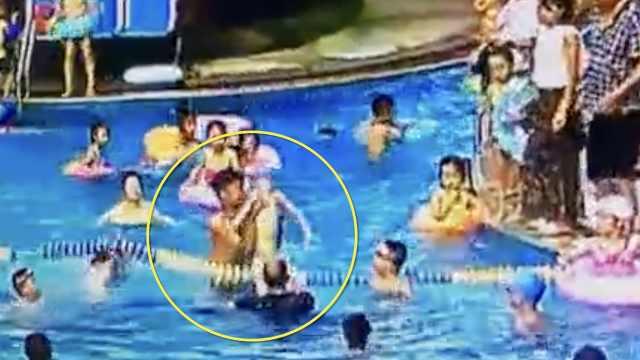男童溺水,民警急救3分钟捡回一命
